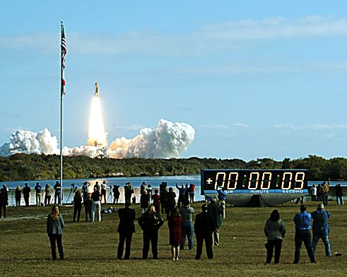 Countdown Clock and Launch