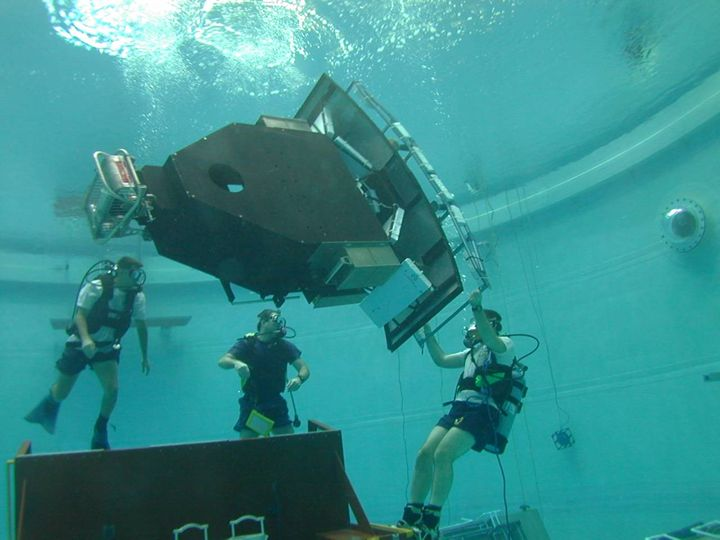 Underwater Training for WFC3 Installation